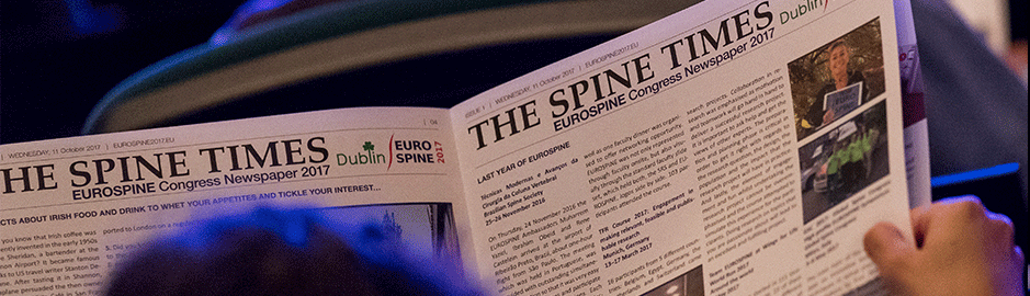 EUROSPINE - Add the Spine Tango Users Meeting to your personal